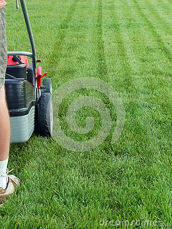 Grass Mowing Stock Photos - Image: 25733823