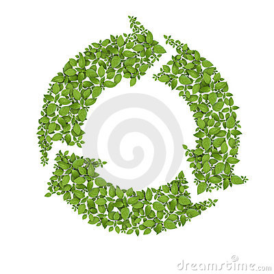 Grass Recycle Symbol