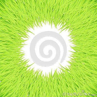 Grass round frame