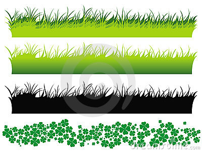 Grass set and clover set