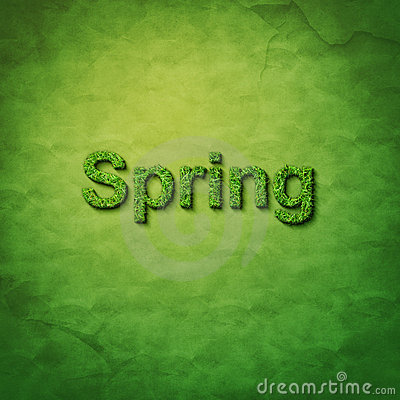Grass spring word