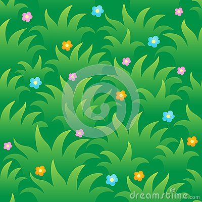 Grassy seamless background 1