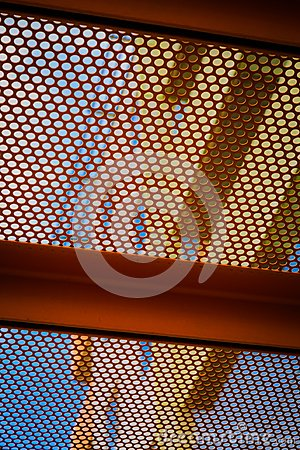 Free Grate With A Pattern II Stock Photo - 118670780