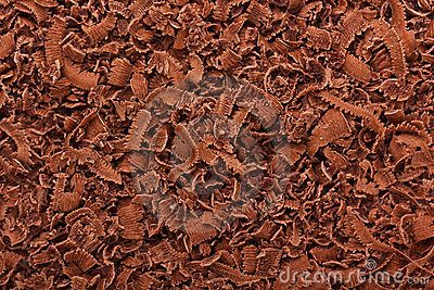 Grated dark chocolate