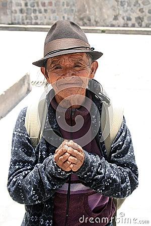 A Grateful Homeless Man