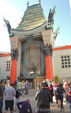Grauman s Chinese Theatre Editorial Stock Image