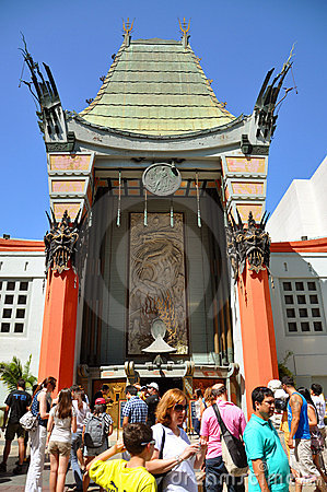 Graumans Chinese Theatre, Hollywood, Los Angeles Editorial Image