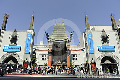 Graumans Chinese Theater Editorial Stock Image