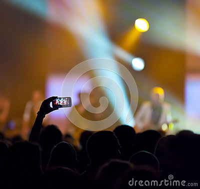 Gravação do concerto