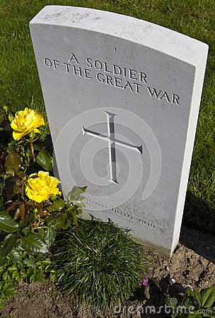 Grave of a Soldier of the Great War