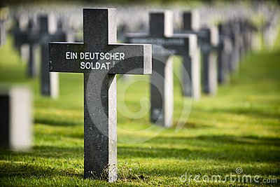 Grave of unknown german soldier