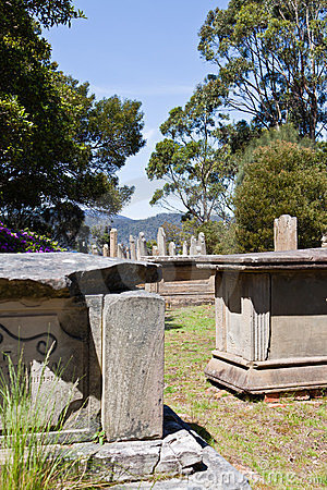 Graves on Isle of the Dead, Port Arthur