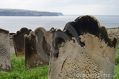 Gravestones by the Sea