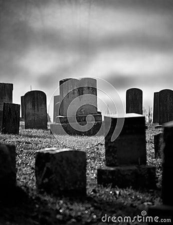 Free Graveyard Royalty Free Stock Photography - 22266157