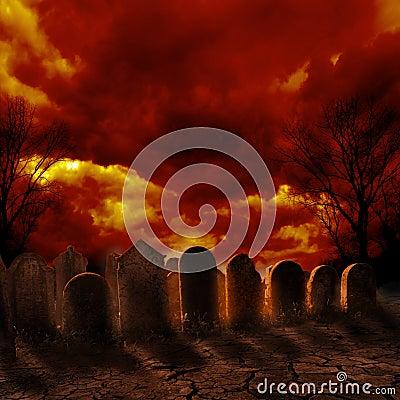 Free Graveyard Stock Image - 33436761