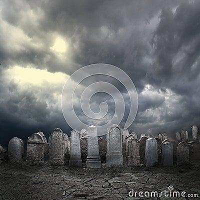 Free Graveyard Stock Photo - 59774640
