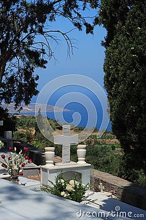Graveyard in Crete