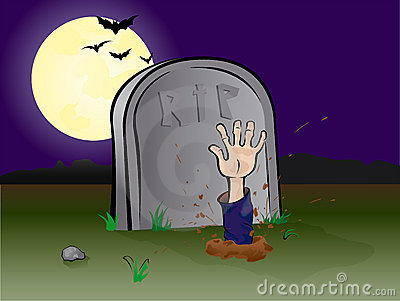 Graveyard hand