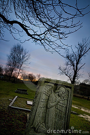 Graveyard Tombstone