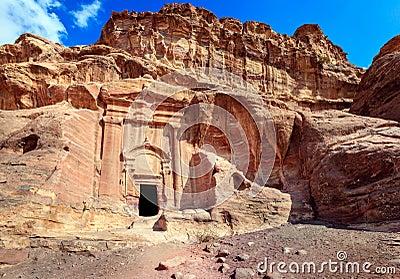 Gravvalv av Petra