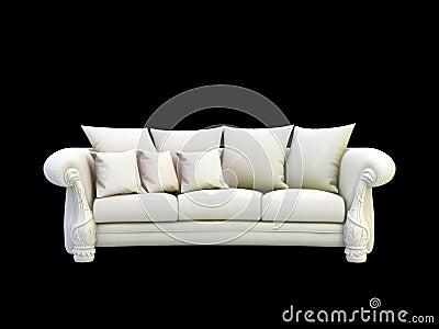 Gray 3d sofa