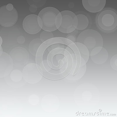 Gray Backgroud with Circles