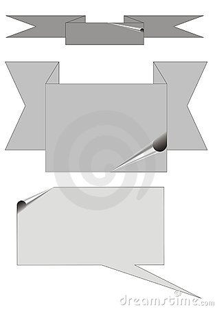 Gray backgrounds, stickers