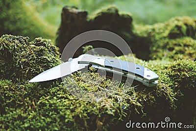 Gray And Black Folding Pocket Knife Free Public Domain Cc0 Image