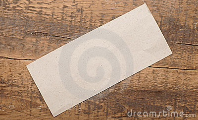 Gray blank paper