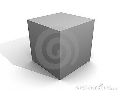 Gray Box Template grey Metal Plastic Carton Blank