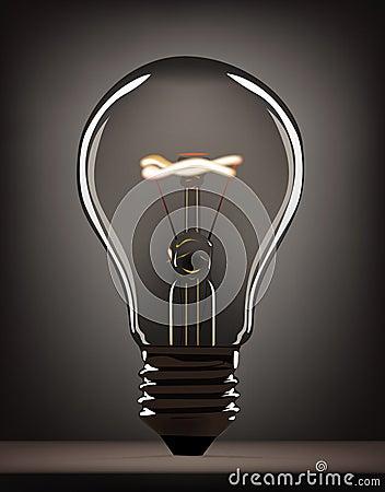 Gray bulb