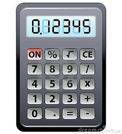 Stock Photos Gray Calculator Image18605353 on 2d house drawing