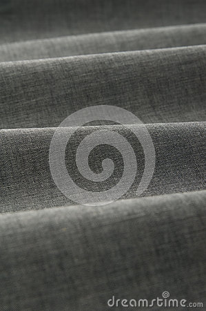 Gray color fabric