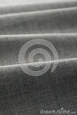 Gray color fabric