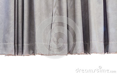 Gray curtain background