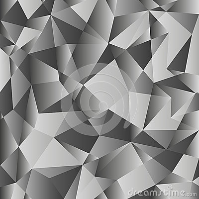 Free Gray Gradient Low Poly Background. Geometric Polygonal Pattern. Vector Royalty Free Stock Photos - 88742478