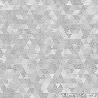 Gray grunge triangles abstract background with spots  Vector    Gray Grunge Background