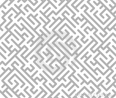 Gray maze background