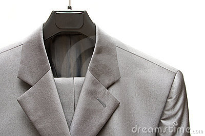 Gray men s suit