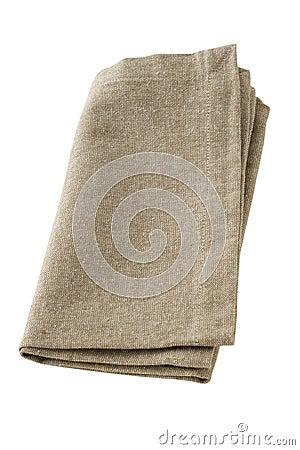 Gray napkin