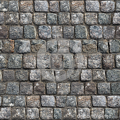Free Gray Old Stone Road Surface -Seamless Texture. Stock Photo - 41545370
