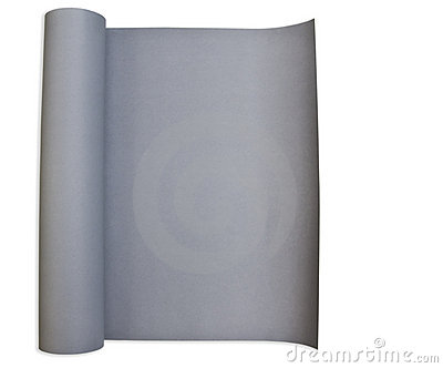Gray paper poster