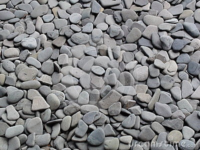 Gray pebble