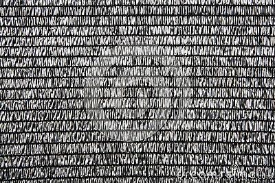 Gray raffia fabric plastic texture pattern