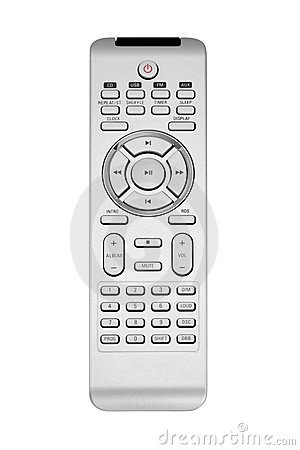 Free Gray Remote Control Royalty Free Stock Image - 9255096
