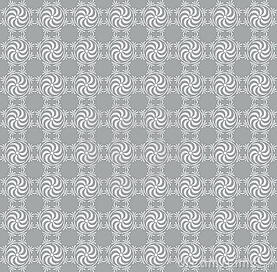 Gray seamless damask background