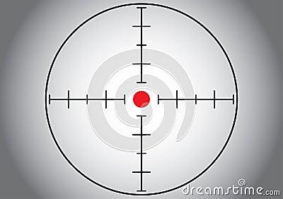 Gray sniper target.