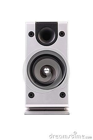 Gray sound speaker.
