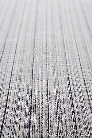 Gray stripe fabric