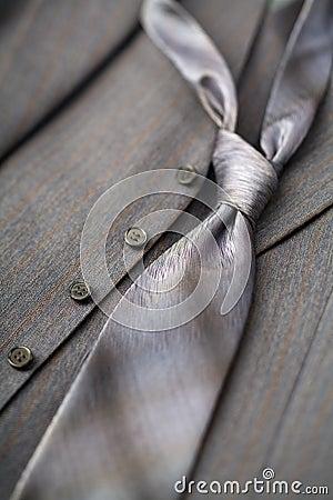 Free Gray Tie Royalty Free Stock Image - 1449356